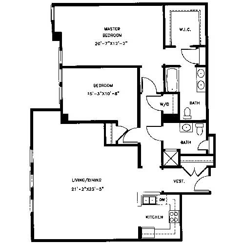 Apartment Floor Plans | Legacy at Arlington Center