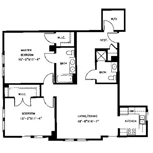 Captivating 25 ensuite bathroom walk in closet plans for Ensuite floor plans